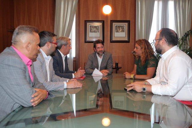 Reunión entre CC y PSOE