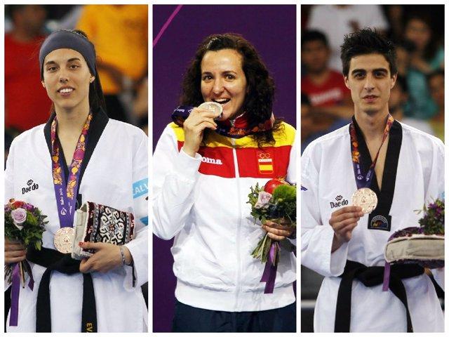 Medallistas españoles de la sexta jornada en Bakú
