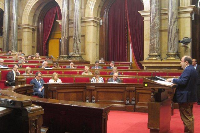 Pleno monográfico de salud en el Parlament
