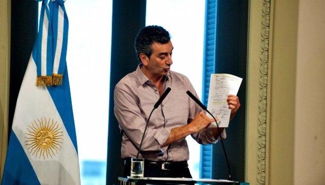 Ministro del Interior de Argentina, Florencio Randazzo, accidente tren