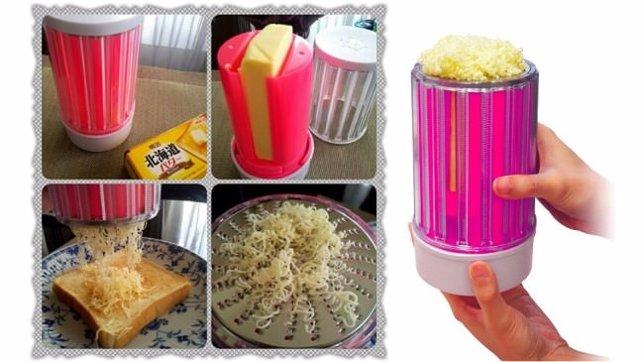 Rallador de mantequilla, invento japonés
