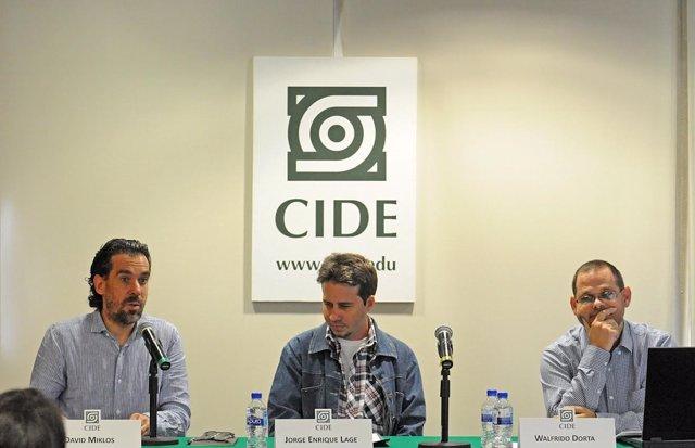 David Miklos,  Jorge Enrique Lage y  Walfrido Dorta