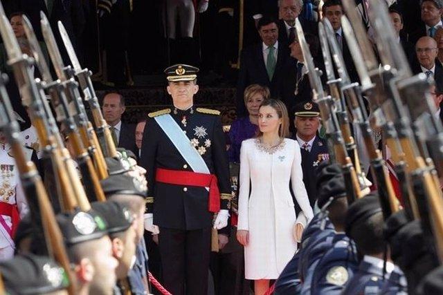 Primer aniversario de la proclamación de Felipe VI