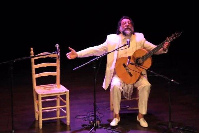 El cantaor Manuel Molina