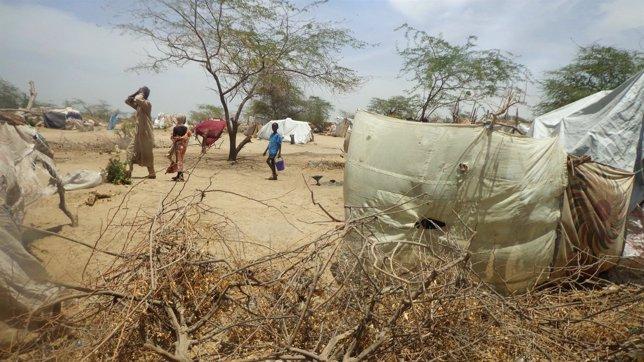 Refugiados nigerianos en Níger