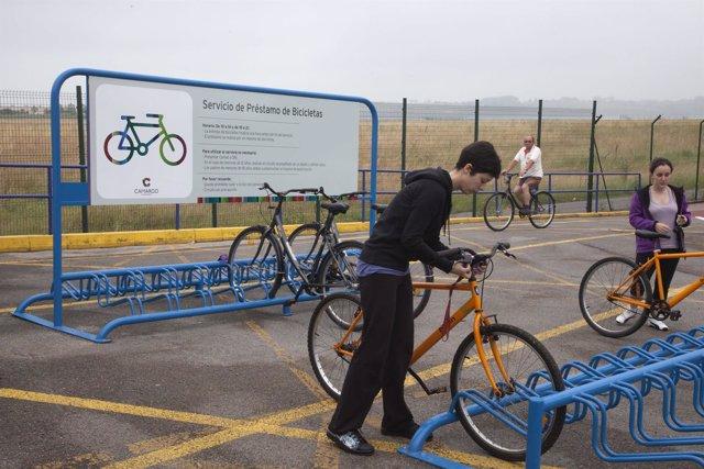 Préstamo de bicis