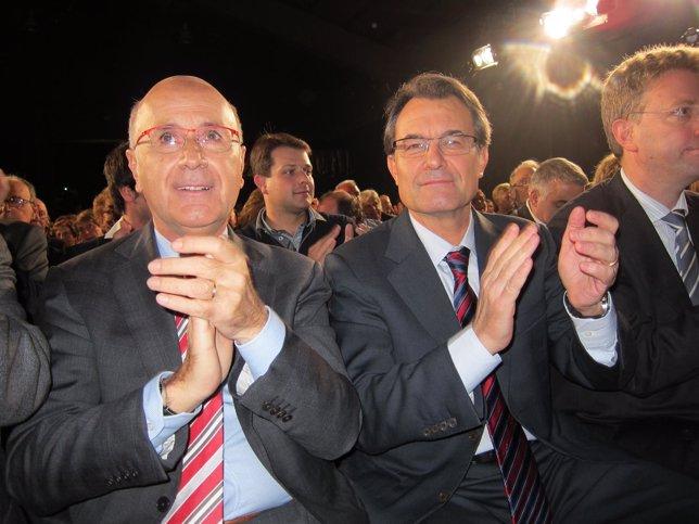Josep Antoni Duran Y Artur Mas (Archivo)