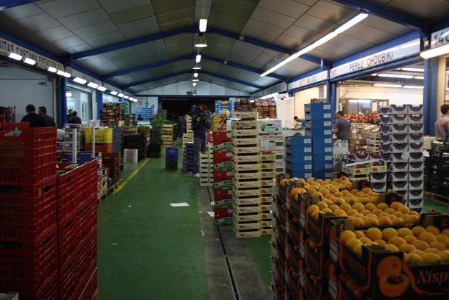 Mercado De Frutas Y Verduras De Mercamálaga