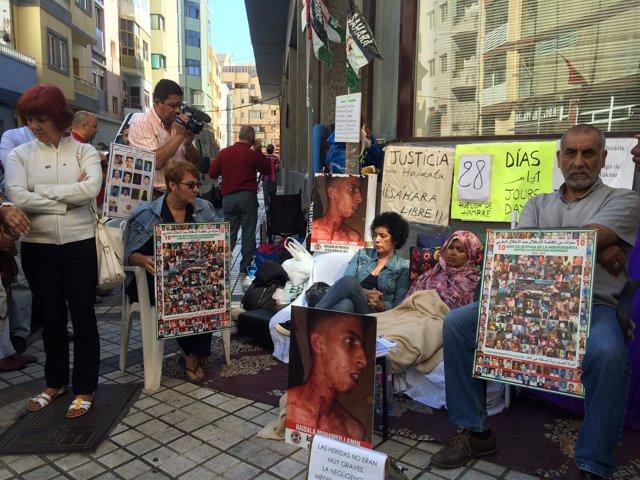 Takbar Haddi, en huelga de hambre en Las Palmas de Gran Canaria