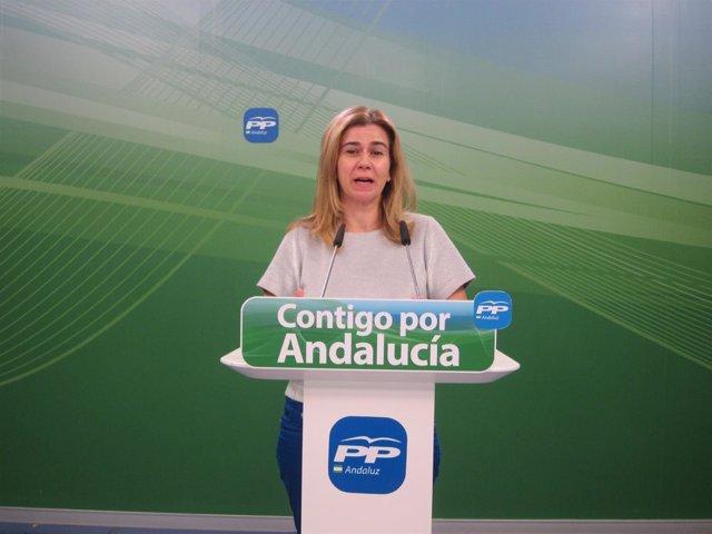 Coordinadora de Empleo y diputada del PP-A, Teresa Ruiz Sillero