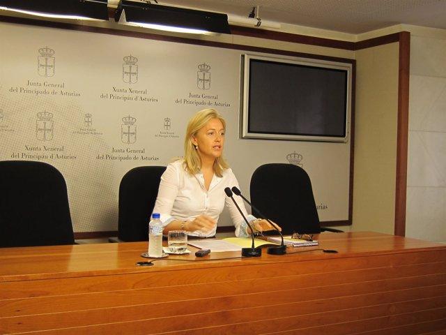 Cristina Coto, presidenta de Foro Asturias y diputada de la Junta General