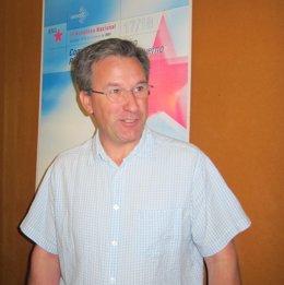 El portavoz nacional del BNG, Xavier Vence, tras el Consello Nacional