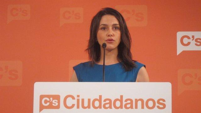 Inés Arrimadas, C's (Archivo)