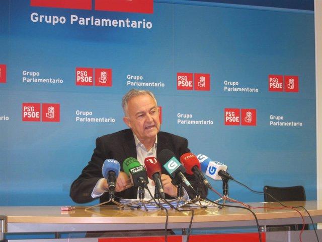 José Luis Méndez Romeu, portavoz del PSdeG en la Cámara