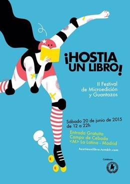 Segunda edición del festival ¡Hostias un libro!