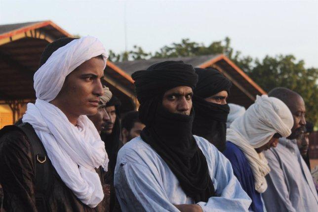 Prisioneros tuareg liberados en el marco de las negociaciones de paz