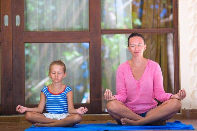 Yoga, relajación, meditación