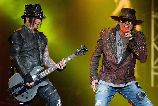 Guns N' Roses estrenará nuevas canciones en 2016