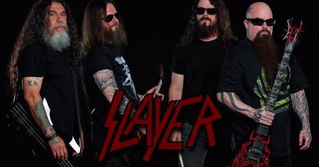 Slayer, banda de thrash metal estadounidense fundada en 1981.