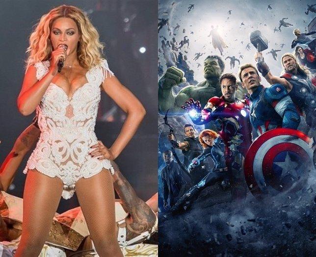 Imagen de Beyoncé y los Vengadores