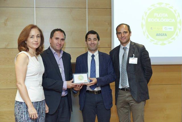 Acreditación Flota Ecológica de Calidad Pascual y Red Eléctrica Española