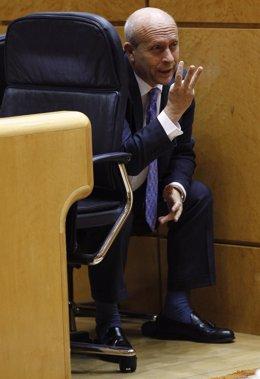 José Ignacio Wert en el Senado