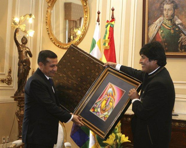 Ollanta Humala Y Evo Morales