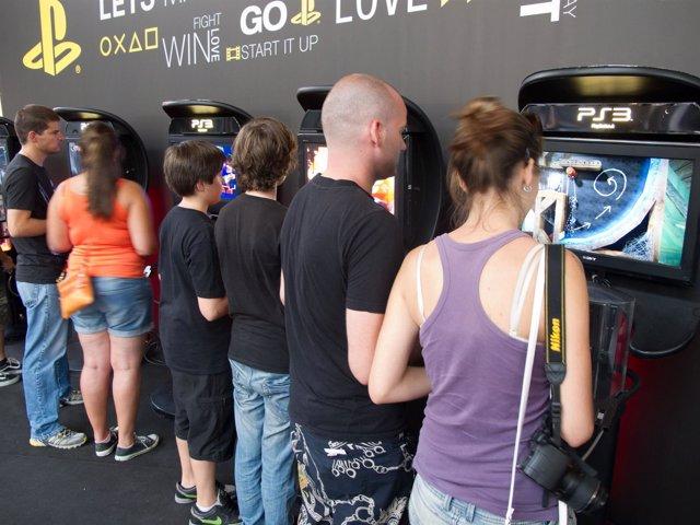 Jugadores Frente a Videojuegos en Gamelab