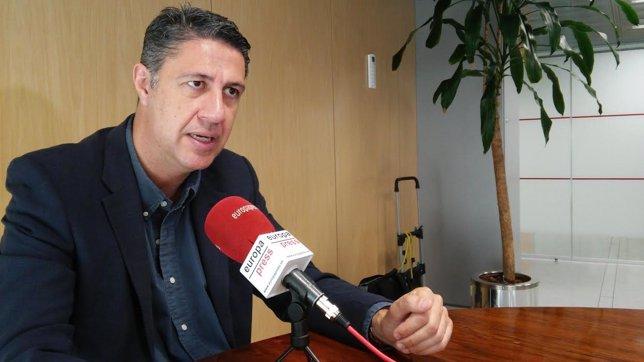 El líder del PP en Badalona, Xavier García Albiol