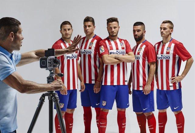 Nueva equipación del Atlético de Madrid