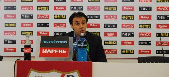 El Director Deportivo Del Rayo Vallecano Felipe Miñambres