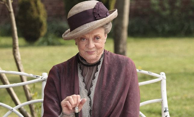 Maggie Smith en Downton Abbey