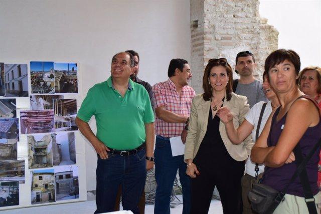 La delegada de Agricultura en Granada ha visitado el lugar.