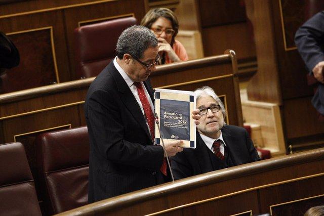 Pere Macias y Josep Sánchez Llibre