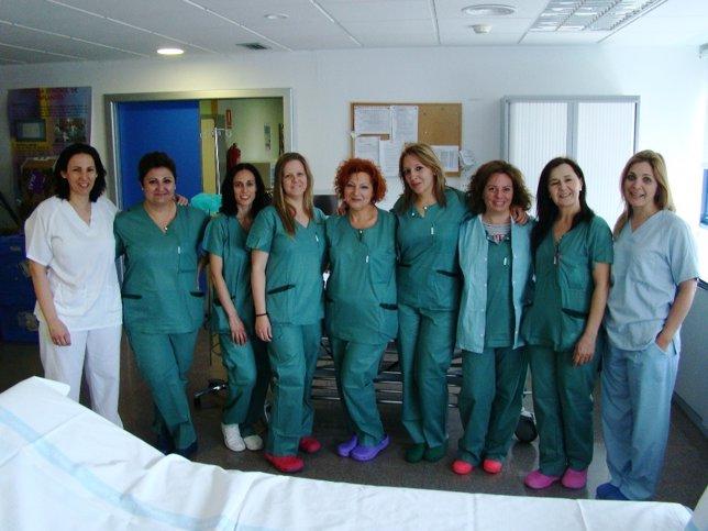 Personal sanitario del Hospital Comarcal de Inca