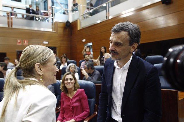 Investidura de Cristina Cifuentes como presidenta de la Comunidad de Madrid