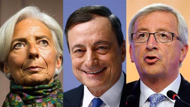 Tsipras se reúne en Bruselas con Juncker, Draghi y Lagarde para tratar de desblo