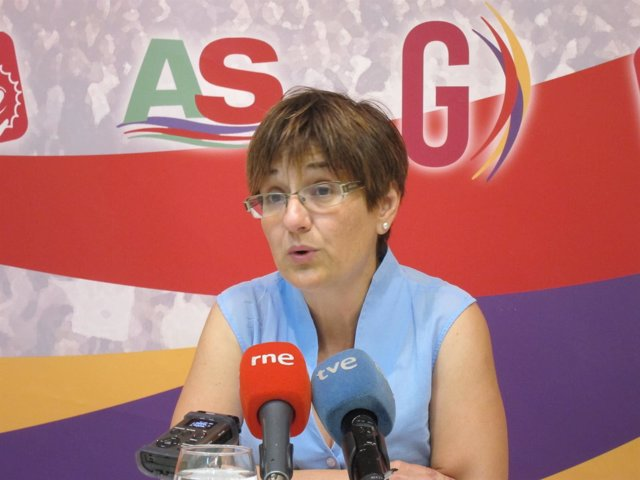 La portavoz de IU-Verdes, Esther Herguedas