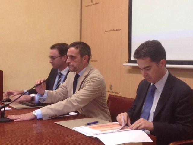 El Conseller En Funciones De Hacienda Y Presupuestos, José Vicente Marí