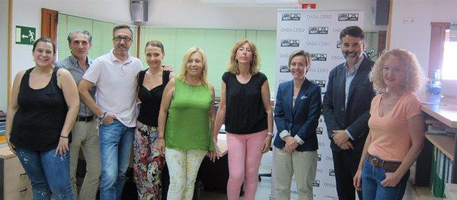 El equipo de Onda Cero Región de Murcia
