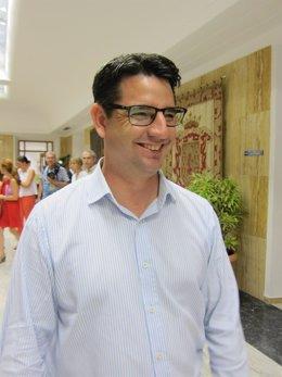El coordinador provincial de IU, Pedro García