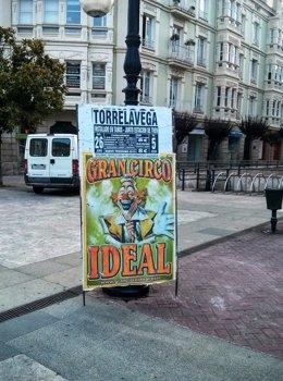 Cartel del circo Ideal