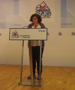 La secretaria de Política Municipal del BNG, Goretti Sanmartín