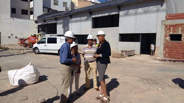 Visita a las obras del Colegio de Educación Infantil y Primaria Miguel Medina