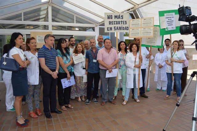 Movilización Hospital de Osuna