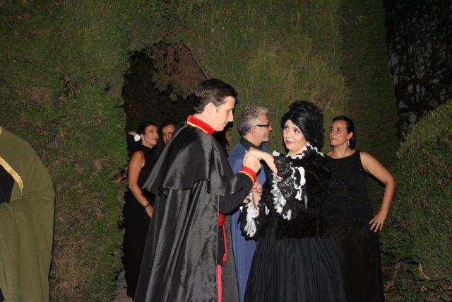 Una de las representaciones de 'Patios de Viana. Un musical de Palacio'