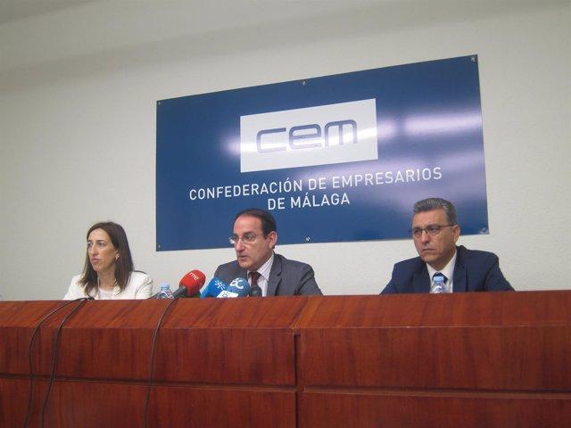 El presidente de la CEM, Javier González de Lara