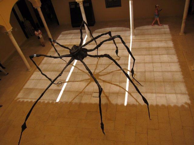 Araña (1996) Louise Bourgeois en Museo Picasso Málaga