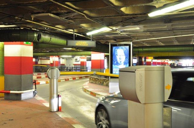 Sistema de parking pionero en España