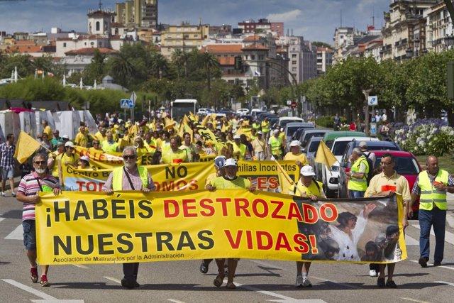 Protesta de AMA